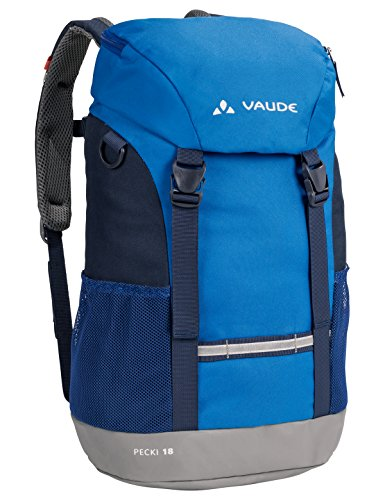 VAUDE Kinder Rucksäcke, 15-19 L Pecki, Blue, one Size, 140233000
