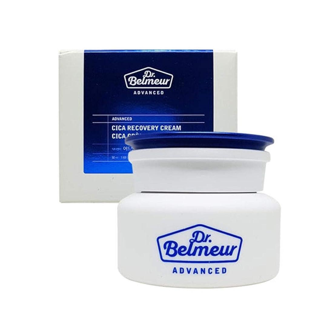 差別読むインシュレータザ?フェイスショップドクターベルモアドバンスドシカリカバリークリーム50ml 韓国コスメ、The Face Shop Dr.Belmeur Advanced Cica Recovery Cream 50ml Korean Cosmetics [並行輸入品]