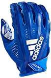 adidas AF1000 Adizero 7.0 Receiver's Gloves, Royal, Large