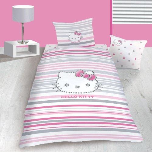 Parure de lit Hello Kitty Strass