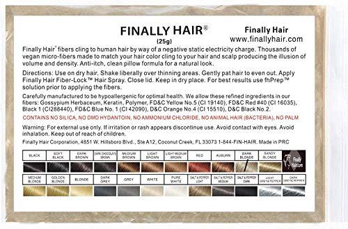 Hair Building Fibers 25 gram (ammon…