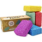 Monkey Foam - 40% More Than The Competitor's Combo Party Pack - 5 Giant Blocks in 5 Great Colors - Perfect for Creative Play - Educational Classroom Pack Size - Never Dries Out! - by Impresa