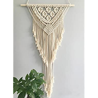 Youngeast Handmade Woven Flag Macrame Wall Hanging Home Décor