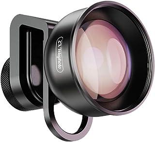 Docooler 4K HD 望遠レンズ 歪みなし 17mmクリップ付き iPhone Max Xs X用 Samsung S8 S9 用 Huawei Smartphone用