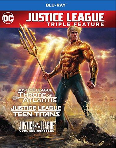 Justice League Vs Teen Titans / Gods & Monsters (3 Blu-Ray) [Edizione: Stati Uniti]