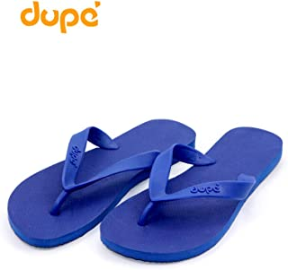 Dupe Blue Flip Flop Thong Design Slipper for Mens