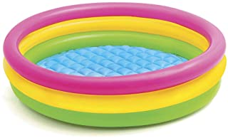 Intex 57412NP - Piscina hinchable 3 aros Sunset 114 x 25 cm