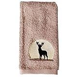 BigKitchen Saturday Night Limited Cotton Silhouette Wildlife Tip Towel, Set of 4