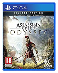 Start your Assassin's Creed Odyssey journey with an advantage thanks to the Limited Edition The Limited Edition includes the standard game and the Digital Herald of Dusk pack which contains 5 rare pieces of armour & 1 rare weapon Pre-order to get an ...