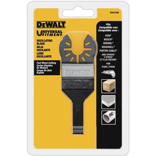 Review DEWALT Dwa4208 Oscillating Wood Detail Blade