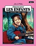 15 Chansons pour enfants vol. 2 - Easy piano, orgue, guitare (Affichage vertical) (French Edition)