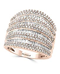 14K ROSE GOLD DIAMOND RING WZ0AV82DD6