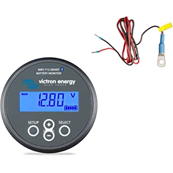 Victron BMV-712 Battery Monitor with Battery Temperature Sensor