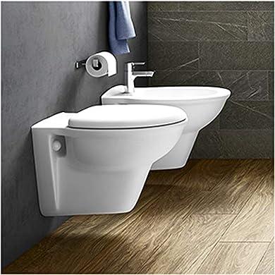 Foto di Inbagno Coppia di SanitariSospesi in Set Composto da WC + Bidet + Copriwc RAK Ceramiche