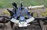 Euphoria Instrumento de barco de latón macizo de 10,16 cm con acabado en polvo negro