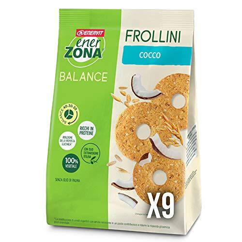 enerZONA Frollini avena 250g cocco box 9 buste