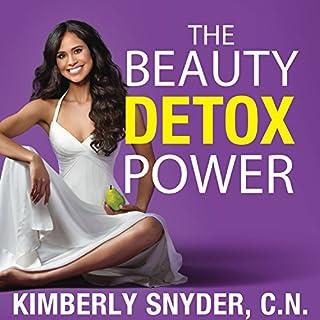 The Beauty Detox Power audiobook cover art
