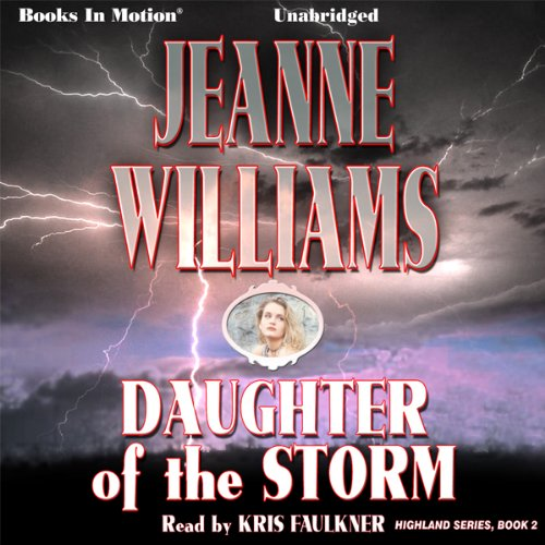 Daughter of the Storm audiobook cover art