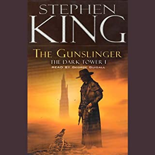 The Gunslinger audiobook cover art