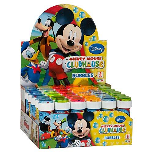 Dulcop- Bolle di Sapone Topolino Mickey Mouse (Conf. 36pz), Multicolore, 103.412000
