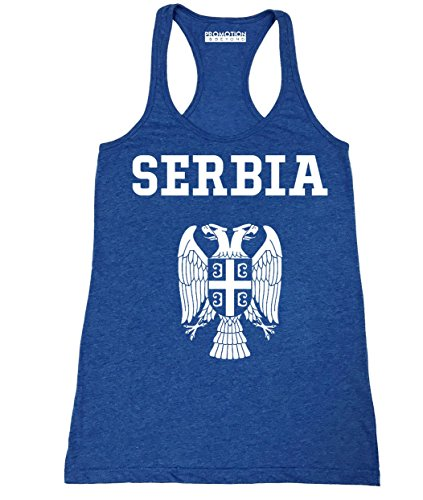 Choose Your Country Flag Serbia Women's Tank Top, S, H. Royal
