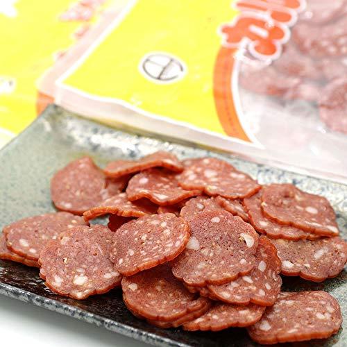 お徳用 スライス おやつカルパス 420g(210g×2袋) 薄切り ソフト カルパス お菓子 サラミカルパス ドライソーセージ