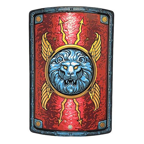 Liontouch 30001LT Escudo de Juguete de Espuma Romano para niños   Forma Parte de la línea de Disfraces para niños