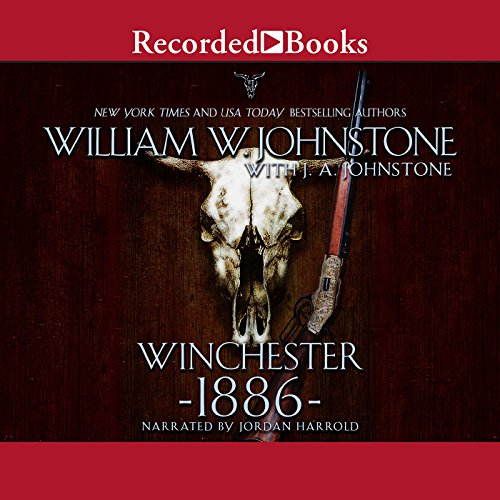Winchester 1886 audiobook cover art