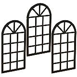 Legendog 3 Piezas Ventana En Miniatura DIY Ventana De Hadas Ventana De Casa De MuñEcas para Manualidades Accesorios De Puerta De Hadas Ventanas De Casa De MuñEcas En Miniatura