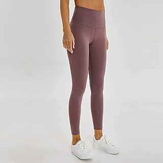 Yoga Pants Women High Waist Tight Elastic Running Fitness Pants,Gray(4)