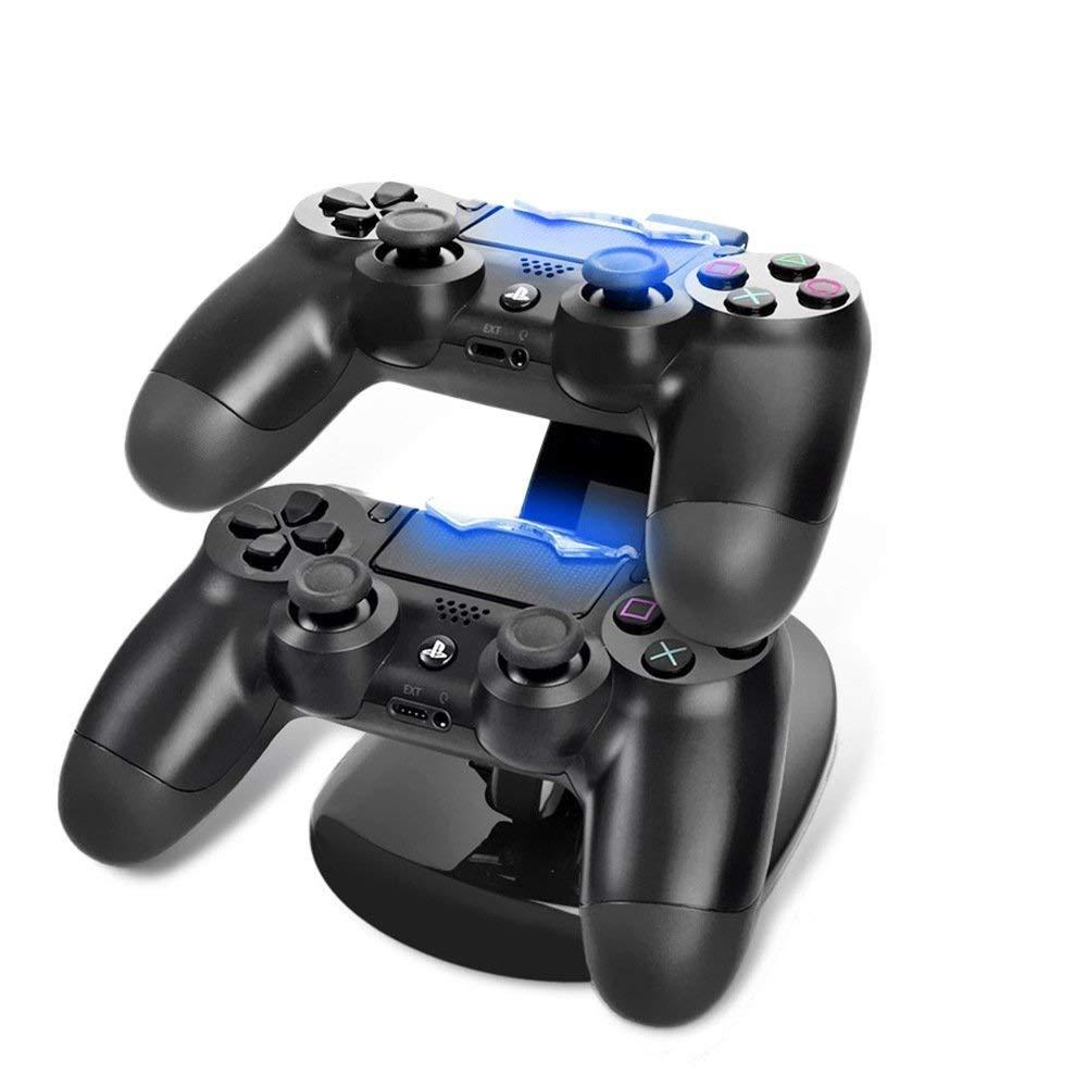 G-HUB® - Sony PS4 DOBLE CONTROL DOCK (tiene y cargos hasta 2 Controllers Game Pad durante la carga y se puede utilizar durante la reproducción) Diseñado por G-HUB ...