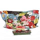 Completo Lenzuola copriletto Matrimoniale Mirabello Fiori di Klimt