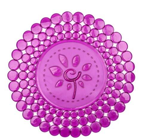 Salvaplatos redondo Mod. Flor (REF. 158/43 34 cm diámetro, Violeta translúcido)