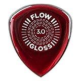 【3枚セット】Dunlop 550R3.0 FLOW GLOSS ULTEX 3.0mm ギター ピック