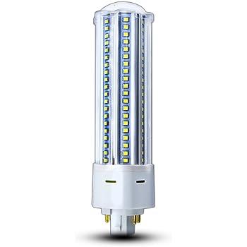 Klarlight Gx24 Led Bulb 4 Pin Daylight 22w Led Gx24q G24q 4 Pin Base Light Bulb Gx24 Led Pl Recessed Lamp 42w Gx24 Cfl Replacement For Warehouse Garage Lighting Remove Bypass Ballast