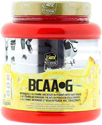 BCAA + MTX NUTRITION R.GOLD G [500 g.] Lavaggio Ananas - catena ramificata Amino PREMIUM (50%) + L- Glutammina (50%) KIOWA_Quality polvere.