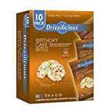 RICE CRISPS REINVENTED - A lighter take on a cupcake that's sweet, delightfully crunchy, and totally satisfying but won't ruin your diet. A DELICIOUS OBSESSION - Unlike those weight loss snacks you've tried, Drizzilicious are simply sinless cake bite...