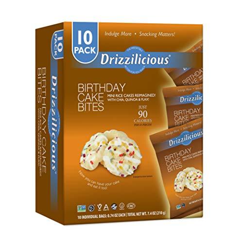 Drizzilicious - Birthday Cake (10 Pack, .74oz)