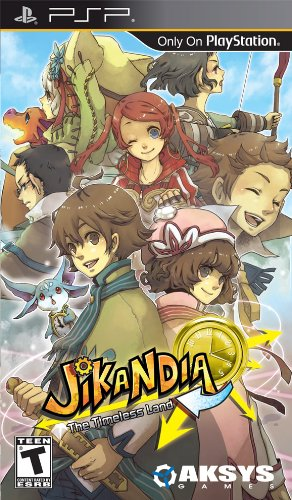 Aksys Games Jikandia: The Timeless Land, PSP