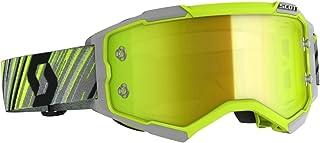 Scott Fury MX Goggle Cross/MTB Brille gelb/grau/gelb Chrom Works