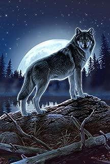 wolf garden flag