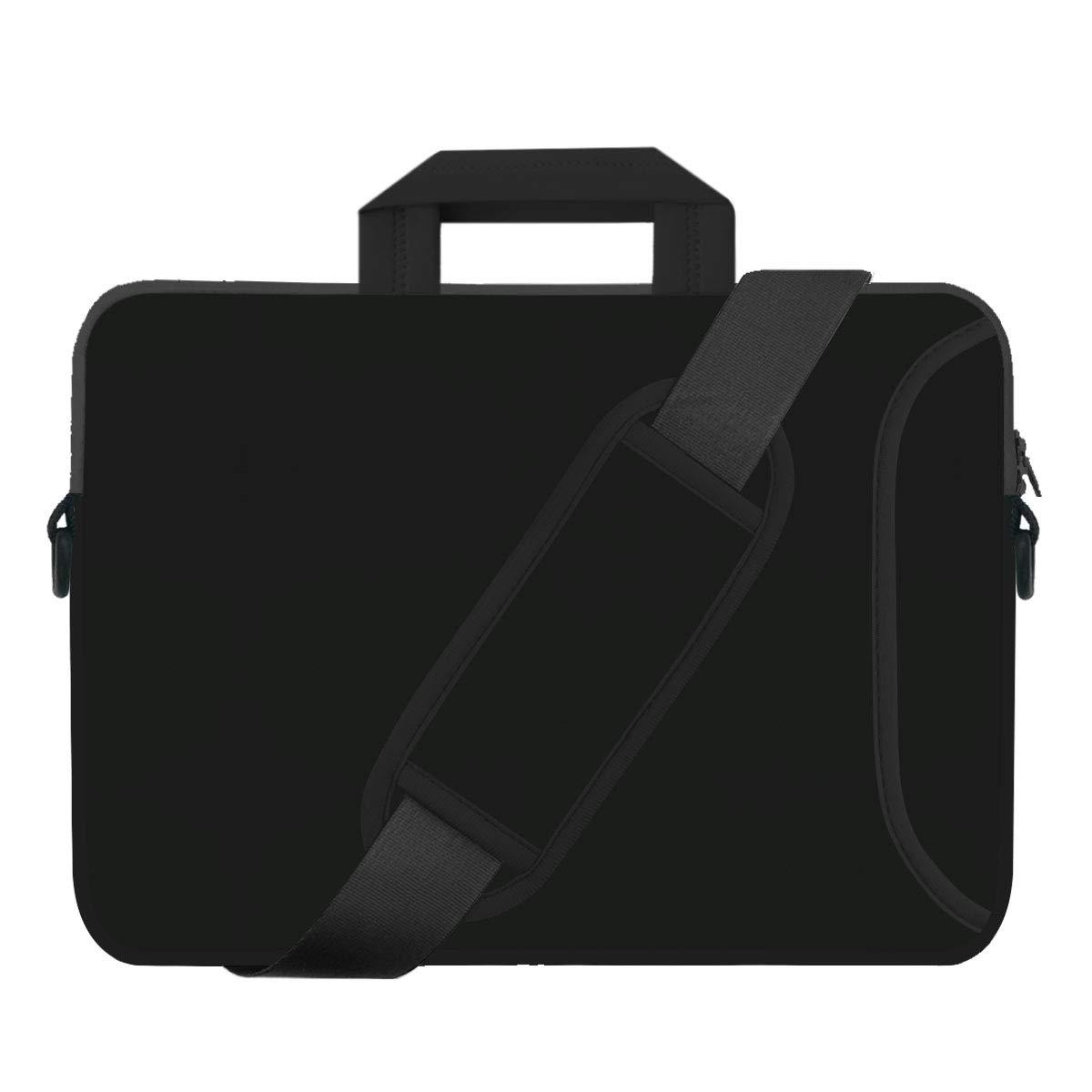 Laptop Bag Computer Bag Hard Shell 17 inch Black Thick