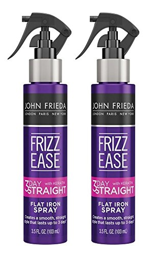 John Frieda Frizz-Ease 3 Day Straight Flat Iron Spray 3.5 Ounce (103ml) (2 Pack)