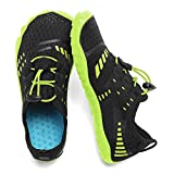 Boys & Girls Kids Water Shoes Lightweight Comfort Sole Easy Walking Athletic Slip on Aqua Sock(Toddler/Little Kid/Big Kid) U420WZ1902-Green-33