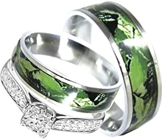 Best His And Her Matching Camo Wedding Ring Sets Of 2020 Top