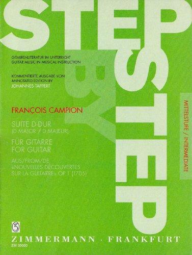 Suite d-Dur aus Op 1. Gitarre
