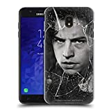 Head Case Designs Officially Licensed Riverdale Jughead Jones Broken Glass Portraits Hard Back Case Compatible with Samsung Galaxy J7 (2018)