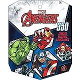 Amscan Disney Frozen - Pegatina de papel (8 hojas), Los Vengadores de Marvel, 12 Pieces