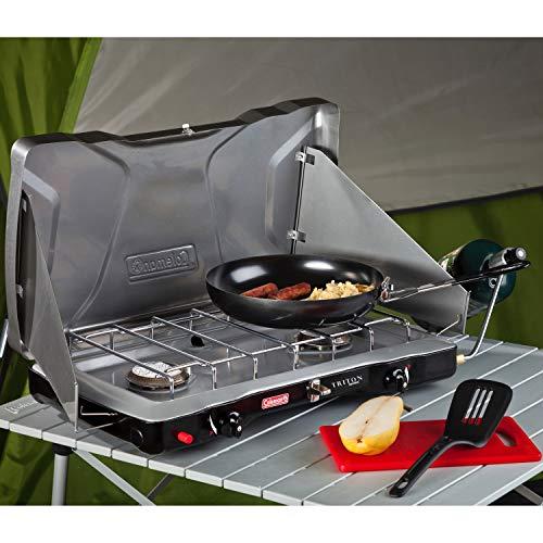 Product Image 12: Coleman Gas Camping Stove   Triton+ Propane Stove, 2 Burner