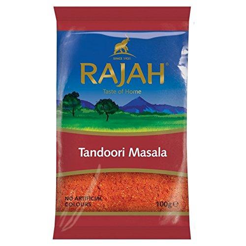 Rajah Tandoori Masala 100g (Paquete de 2)